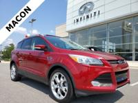 2015 Ford Escape Titanium Red *NAVIGATION*, *DUAL ZONE