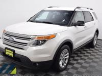 White Platinum Metallic Tri-Coat AWD SUV with a 6-Speed