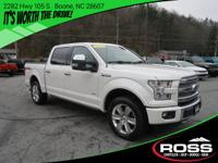 This 2015 Ford F-150 PLATINUM might just be the