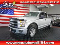 Silver 2015 Ford F-150 XL 4WD Automatic*CLEAN CARFAX,