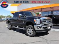 Our 2015 Ford F-350 Lariat Crew Cab 4X4 presented in