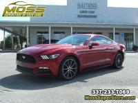 This 2015 Ford Mustang I4 is equipped with luxury