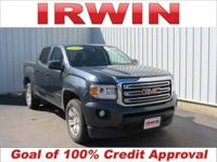 4WD! CARFAX One-Owner. Cyber Gray Metallic 2015 GMC