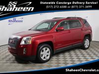 Clean CARFAX. Crystal Red Tint 2015 GMC Terrain SLE-2