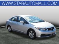 Gray Cloth.Recent Arrival! 2015 Honda Civic LX LX
