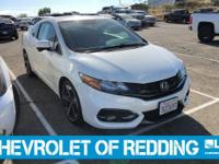 EPA 31 MPG Hwy/22 MPG City! Taffeta White exterior and