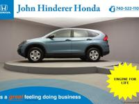 John Hinderer Honda is Pleased to present a 2015 Honda