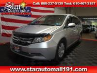 Silver 2015 Honda Odyssey EX FWD Automatic*BACK UP