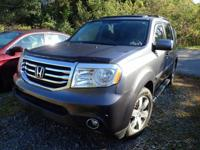 Recent Arrival! 2015 Honda Pilot Touring Gray CLEAN