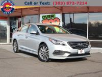 Arrive in style in our 2015 Hyundai Sonata Sport Sedan