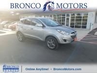 Gray 2015 Hyundai Tucson GLS FWD 6-Speed Automatic with