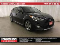 2015 Hyundai Veloster TurboCARFAX One-Owner. Clean