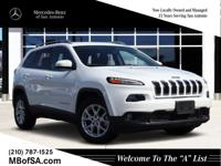 2015 Jeep Cherokee Latitude Bright White ClearcoatFWD