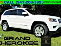 THIS IS A BEAUTIFUL 2015 JEEP GRAND CHEROKEE LAREDO.