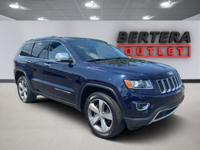 2015 Jeep Grand Cherokee True Blue Pearlcoat Limited