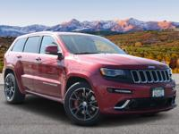 . ONLY 38,262 Miles! WAS $46,299. SRT trim, Deep Cherry