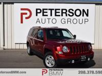 Our 2015 Jeep Patriot Sport is stunning in Deep Cherry