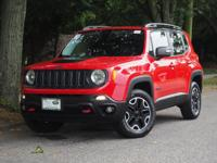 New Price! Colorado Red 2015 Jeep Renegade Trailhawk