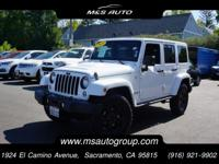 Inspired to take you further, our 2015 Jeep Wrangler