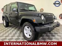 Black Clearcoat 2015 Jeep Wrangler Unlimited Sport 4WD
