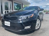 Nice black Optima with an Odometer that is 22559 miles