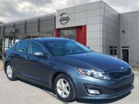 Blue 2015 Kia Optima LX FWD 6-Speed Automatic with
