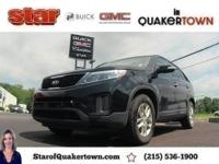 JUST IN, ADULT DRIVEN, BLUETOOTH. 2015 Kia Sorento LX