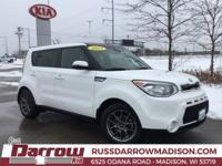 2015 Kia Soul Exclaim Clear White I4 FWD*** NON-SMOKER