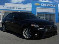 CARFAX One-Owner. Obsidian 2015 Lexus IS 250 Crafted