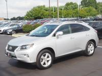 Silver 2015 Lexus RX 350 AWD 6-Speed Automatic with