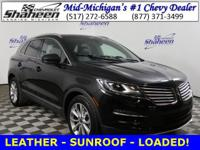 Clean CARFAX. Tuxedo Black Metallic 2015 Lincoln MKC