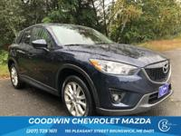 CARFAX One-Owner. Clean CARFAX. Black 2015 Mazda CX-5