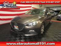 CARFAX One-Owner. Clean CARFAX. Brown 2015 Mazda Mazda3