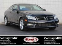 * Clean Carfax * 2015 Mercedes Benz C 250 Coupe. Only