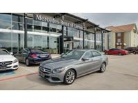Check out this gently-used 2015 Mercedes-Benz C-Class