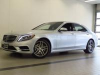 2015 MERCEDES-BENZ S-CLASS S 550 4MATIC! ONE OWNER!