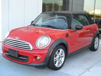 This 2015 Mini-Cooper Convertible has a 1.6L Engine and