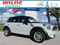 Light White exterior, Countryman trim. WAS $14,987,