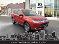 Rally Red 2015 Mitsubishi Outlander GT 4WD 6-Speed