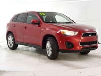 Check out this 2015 Mitsubishi Outlander Sport ES. Its
