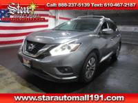 CARFAX One-Owner. Clean CARFAX. Gray 2015 Nissan Murano