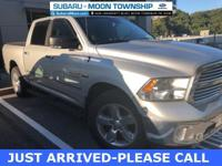 2015 Ram 1500 Big Horn Bright Silver Metallic Clearcoat