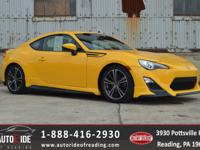 Certified. Recent Arrival! 2015 Scion FR-S Release