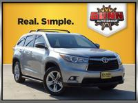 This 2015 Toyota Highlander Limited has a comfortable