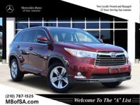 2015 Toyota Highlander Limited Ooh La La Rouge