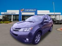 Clean CARFAX. Gray 2015 Toyota RAV4 XLE FWD 6-Speed