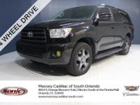 This 2015 Toyota Sequoia SR5 **ONE OWNER**CLEAN
