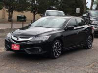 2016 ACURA ILX, FWD, POWER WINDOWS AND LOCKS, HEATED