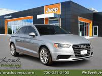 Priced below KBB Fair Purchase Price! 2016 Audi A3 2.0T
