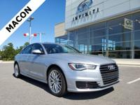 INFINITI OF MACON IS OFFERING THIS 2016 Audi A6 2.0T